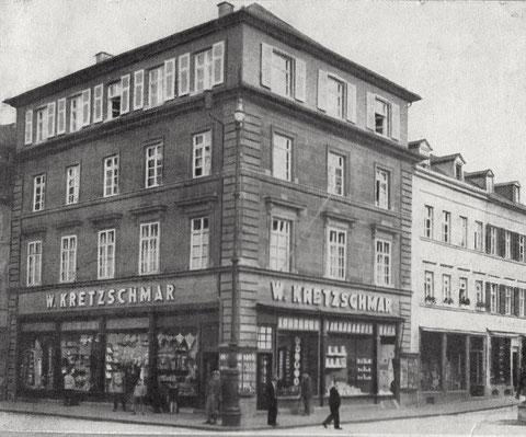 Kaufhaus Kretzschmar um 1935