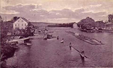 Der Main im Jahre 1915