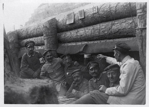 Schweinfurter Bataillon - Russland Mai 1917 - In der ...