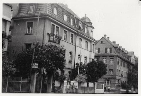 Blick vom oberen Teil der Neutorstraße - Häuser wie Foto davor - August 1940 - vergrößerbar!