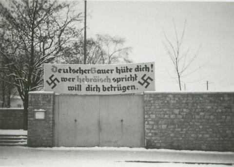 1938 - Am Jägersbrunnen Schweinfurt
