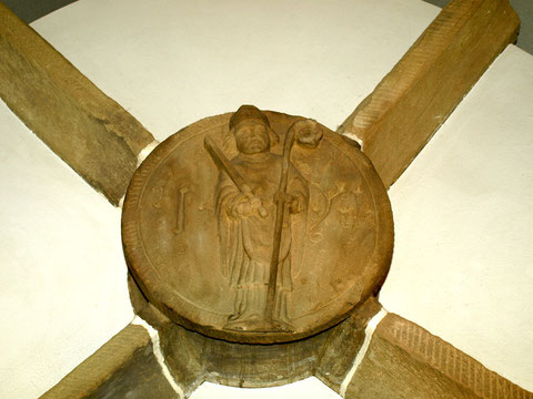 Ausgegrabene Gewölbeteile der Kilianskirche II.