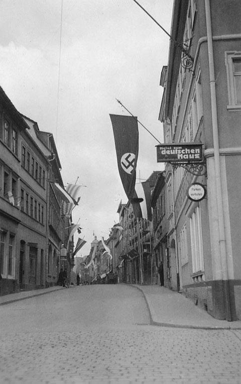 Ähnliche Ansicht im Jahre 1933