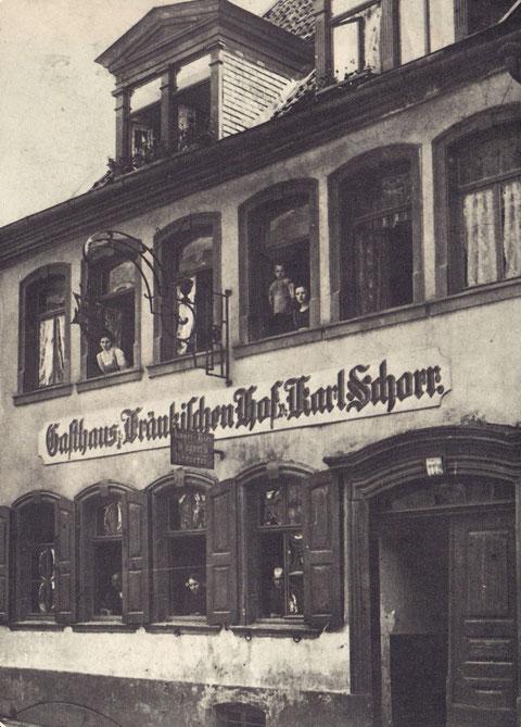 Foto um 1900