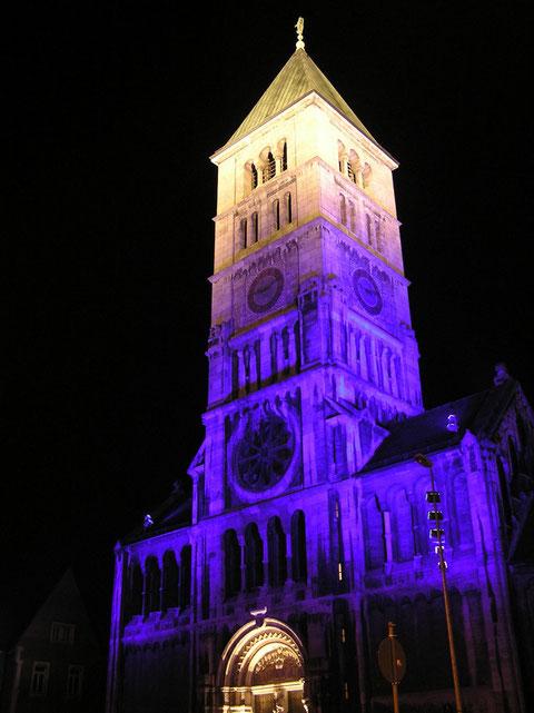 Hl.-Geist-Kirche bei Nacht - 2015