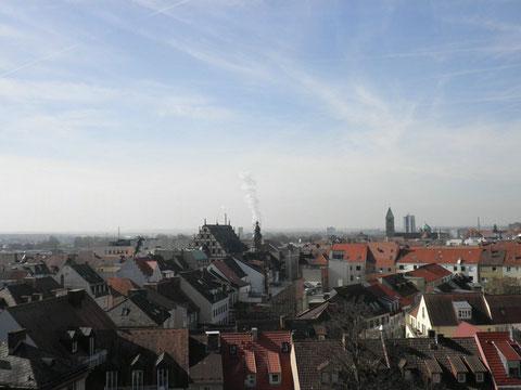 Blick über Schweinfurt 2015