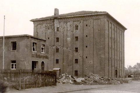 Der Fichtel & Sachs-Bunker am Ende des Zweiten Weltkrieges