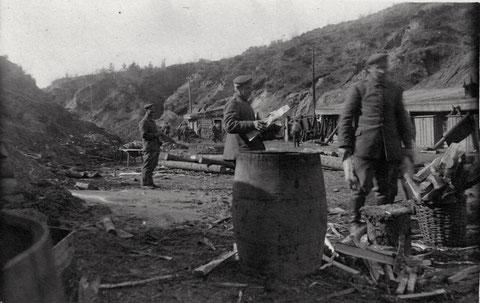 Bataillon Schweinfurt, Russland April 1917,