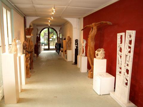 Eingangsbereich zum Atelier