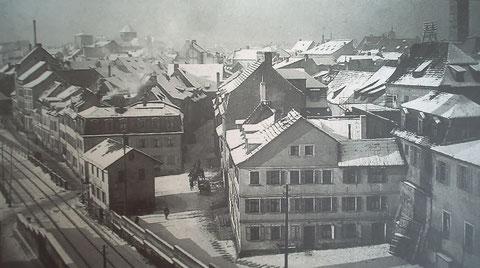 Fischerrain um 1902 - Danke an Peter Hösel