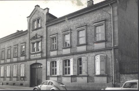 Das Gemeindehaus der Jüdischen Gemeinde in der Siebenbrückleingasse 14