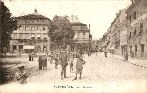 Blick in die Obere Straße 1905