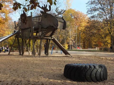 Im Schweinfurter Wildpark 2011