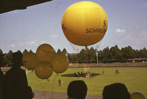 7. Juni 1959 im Willy-Sachs-Stadion Ballon Schweinfurt