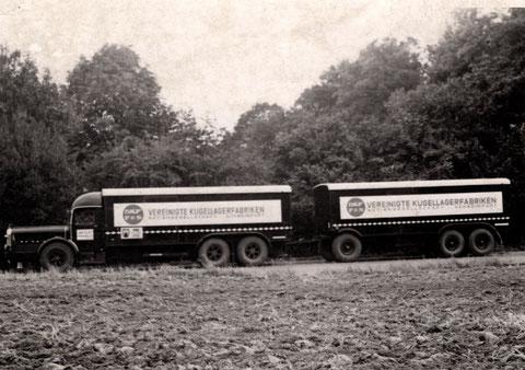 VKF-Lastzug in den 1930ern
