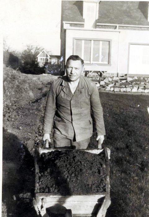 Konrad Christ im Einsatz