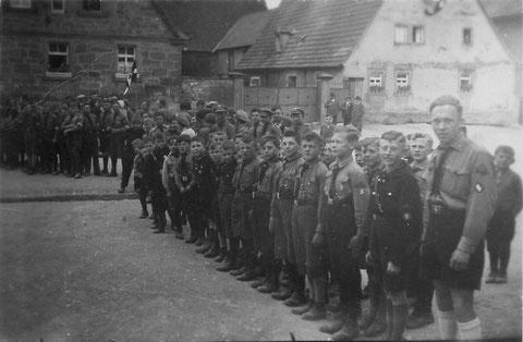 Hitlerjugend in Sulzheim 1935 - Danke an Gerhard Ahles