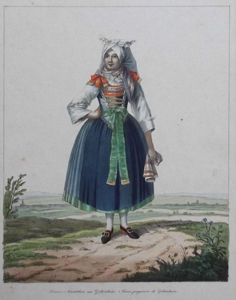 andere ähnliche Darstellung um 1840