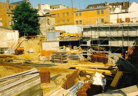 Tiefgarage an der Rittergasse 1992