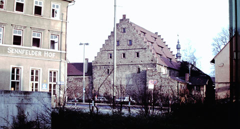 1977 mit Ebracher Hof - Danke an Christel Feyh