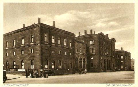 Hauptbahnhof 1938