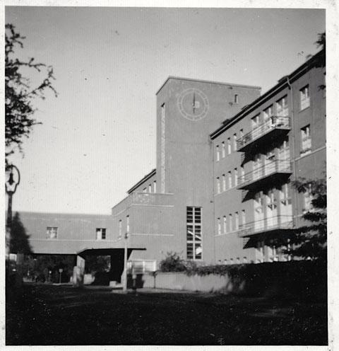 Das Städtische Krankenhaus (heute Leopoldina)
