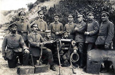Bataillon Schweinfurt MG-Trupp 1917