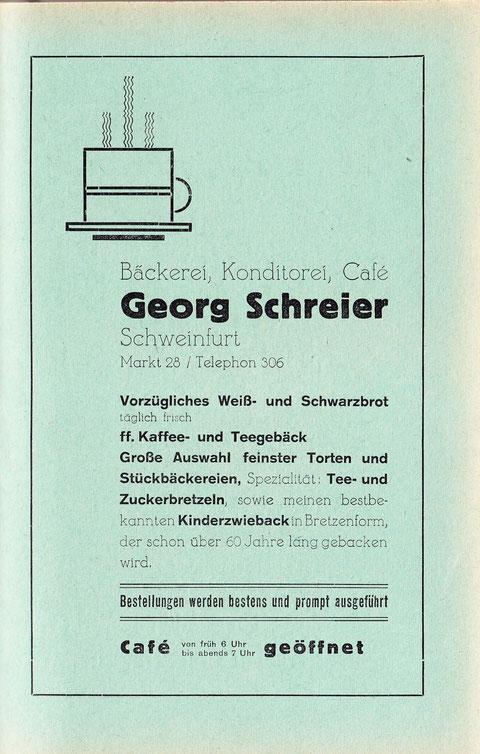 """Inserat aus """"Hausbuch für die deutsche Familie"""", das frisch getraute Ehepaare von der Stadt ausgehändigt bekamen (ca. 1930)"""