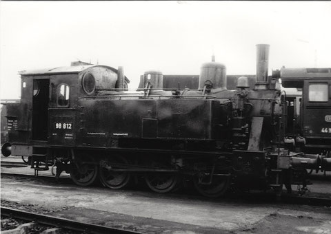 98 812 in Schweinfurt - August 1966
