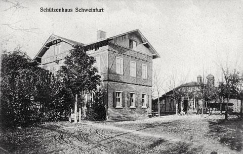 Schützenhaus um 1915