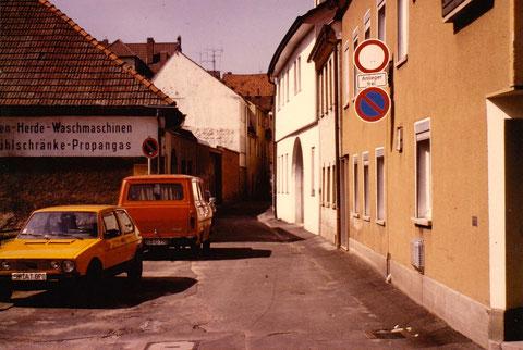Linsengasse Schweinfurt 1978 - Danke an Markus Cenner