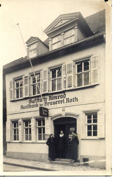 Gaststätte Rimrod, Zehntstr. 7