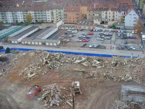 Abriss SKF Werk 1 - Danke an Gerhard Ahles
