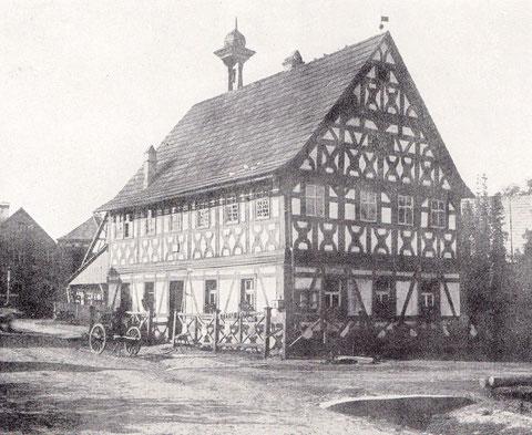 Rathaus, erbaut um 1600 (Aufgenommen um 1910)