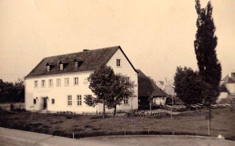 Naturfreundehaus Schweinfurt um 1936