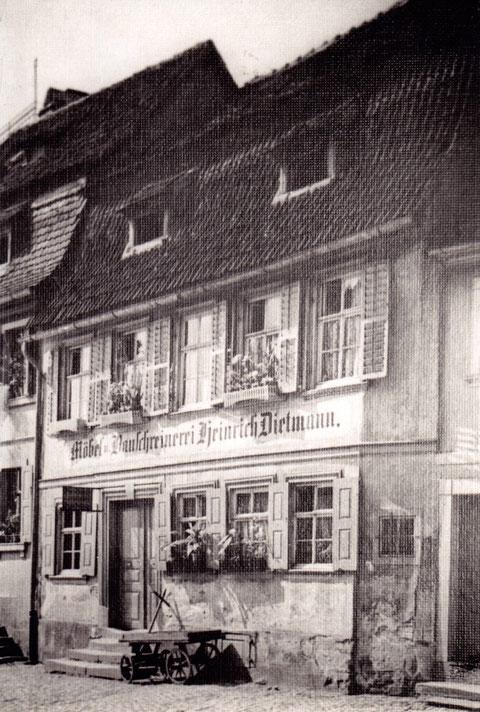 Schreinerei Dietmann, Fischerrain 30