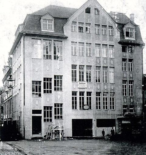 Kaufhaus Tietz (später Kroneneck) - 1910