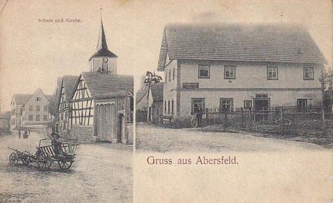 1912 - mit Gasthaus zum Ross