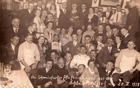 Schlachtschüssel 1931