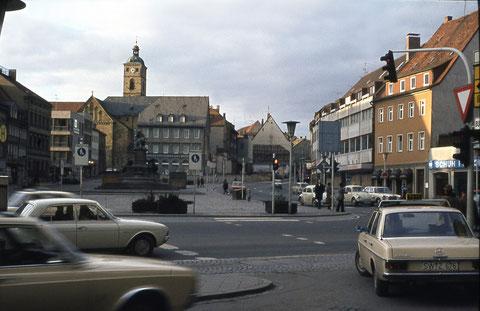 """Marktplatz - Das Haus mit der Gaststätte """"Brauhaus"""" wurde abgerissen"""