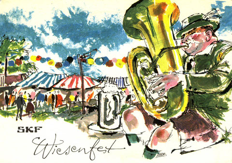 Wiesenfest 1966. Bild © SKF Group