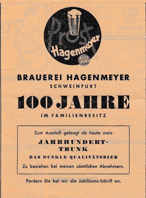 1949 - Annonce