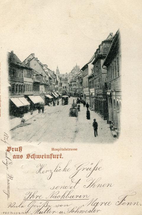 """1898 wurde sie """"Hospitalstraße genannt"""" - Danke an Margot Gillich"""