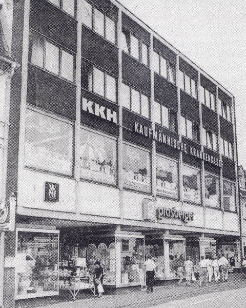 Grasberger - eröffnet 24. April 1967