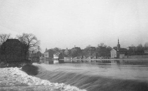 Elefantenbuckel 1932 mit Blick auf Schweinfurt