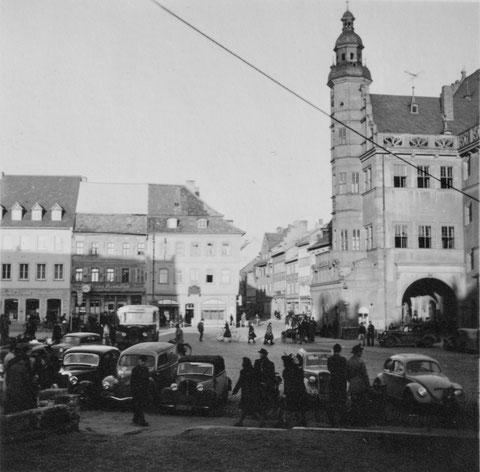 Marktplatz um 1948