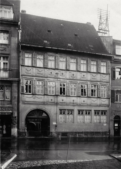 Spitalstraße 21 - Jahr unbekannt, Vorkriegszeit - Danke an Frau Christel Feyh