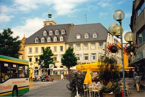 Schweinfurt Marktplatznordseite 1995