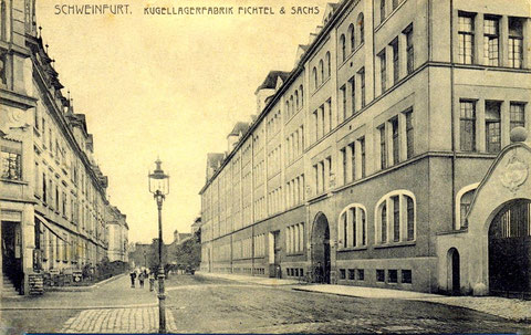 Schrammstraße um 1910 - vergrößern durch Anklicken!