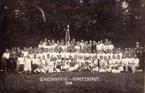 Gauturnfest in Grettstadt 1922